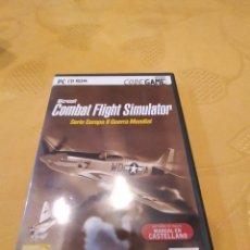 Videogiochi e Consoli: M-26 PC CD ROM JUEGO PC COMBAT FLIGHT SIMULATOR SERIE EUROPA II GUERRA MUNDIAL. Lote 249082740