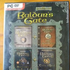 Videojuegos y Consolas: BALDUR'S GATE CAJA GRANDE 4 JUEGOS: TALES OF THE SWORD COAST, THRONE OF BHAAL, SHADOWS AMN - 4 DVD. Lote 251071230