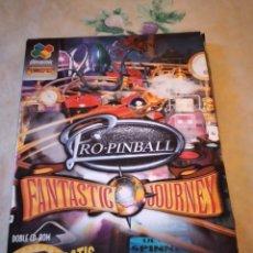Videojuegos y Consolas: RO.PINBALL PC AÑO 2000,CD PRECINTADO. Lote 251074855