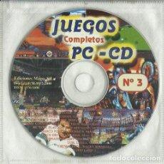 Videogiochi e Consoli: JUEGOS PC CD ROM COMPLETOS. Lote 251669565