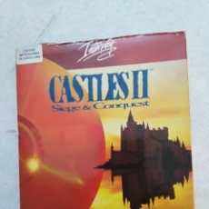 Videojuegos y Consolas: CASTLES II, SIEGE & CONQUEST, PC ARCADIA ( SOLO CAJA Y LIBROS ). Lote 251735385