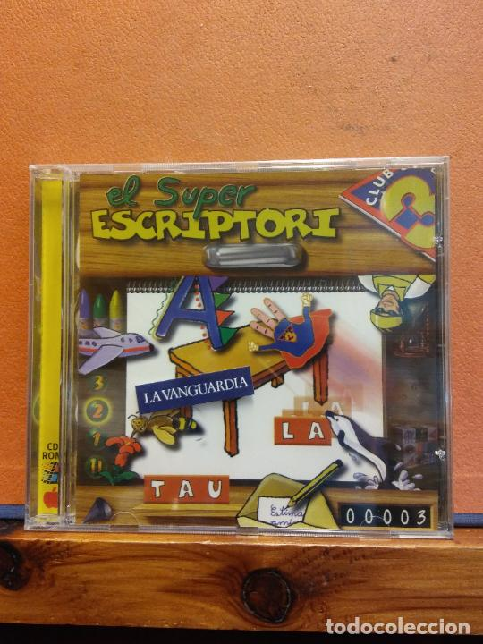 CD ROM. EL SUPER ESCRIPTORI. LA TAULA. CLUB 3 (Juguetes - Videojuegos y Consolas - PC)