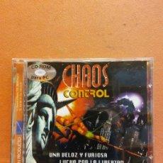 Videogiochi e Consoli: CD ROM. CHAOS CONTROL. UNA VELOZ Y FURIOSA LUCHA POR LA LIBERTAD. Lote 251836160
