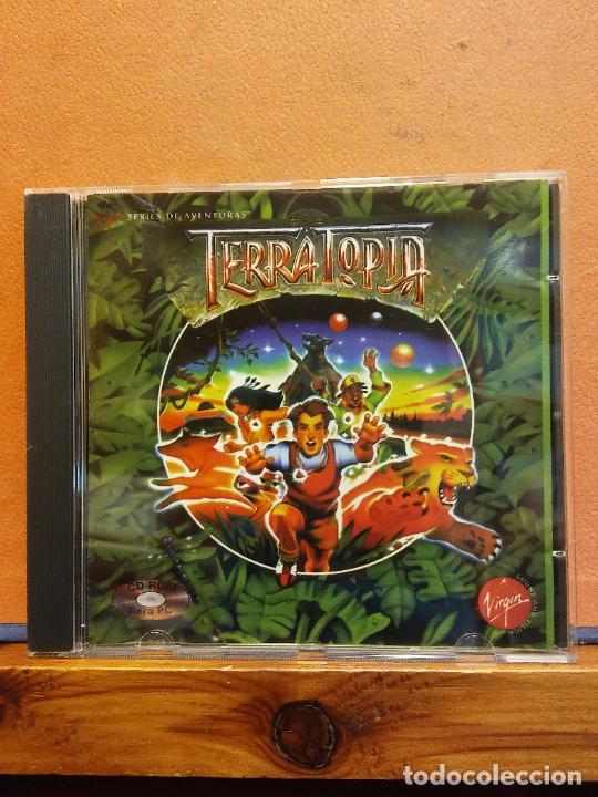 CD ROM. TERRATOPIA. SERIE DE AVENTURAS (Juguetes - Videojuegos y Consolas - PC)