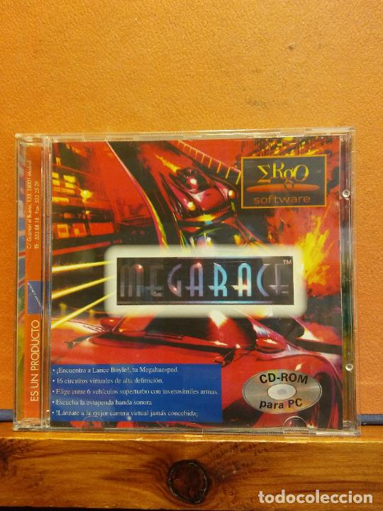 CD ROM. MEGARACE (Juguetes - Videojuegos y Consolas - PC)