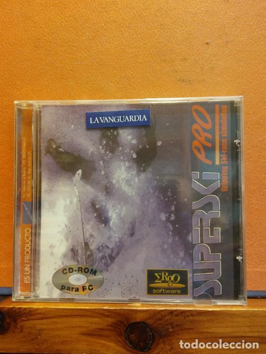 CD ROM. SUPERSKI PRO. LA VANGUARDIA (Juguetes - Videojuegos y Consolas - PC)