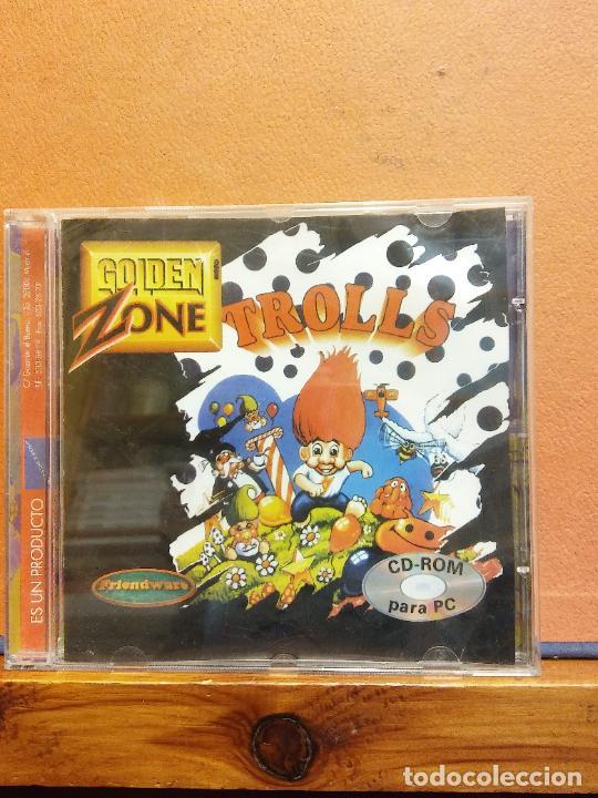 CD ROM. TROLLS. GOLDEN ZONE (Juguetes - Videojuegos y Consolas - PC)