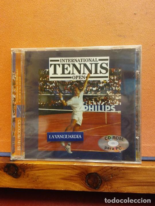 CD ROM. INTERNATIONAL TENNIS OPEN. LA VANGUARDIA (Juguetes - Videojuegos y Consolas - PC)