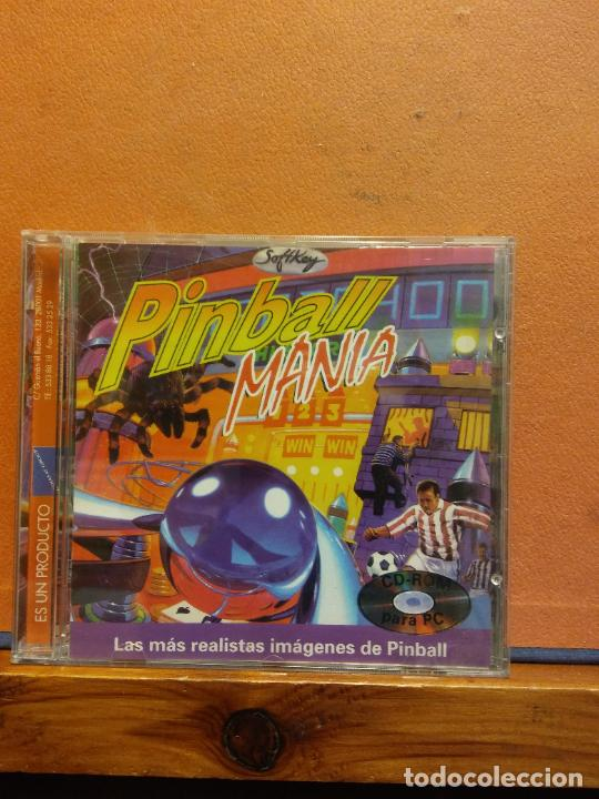 CD ROM. PINBALL MANIA. SOFTKEY. (Juguetes - Videojuegos y Consolas - PC)
