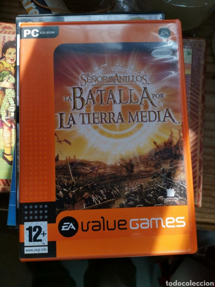 EL SEÑOR DE LOS ANILLOS LA BATALLA POR LA TIERRA MEDIA (Juguetes - Videojuegos y Consolas - PC)