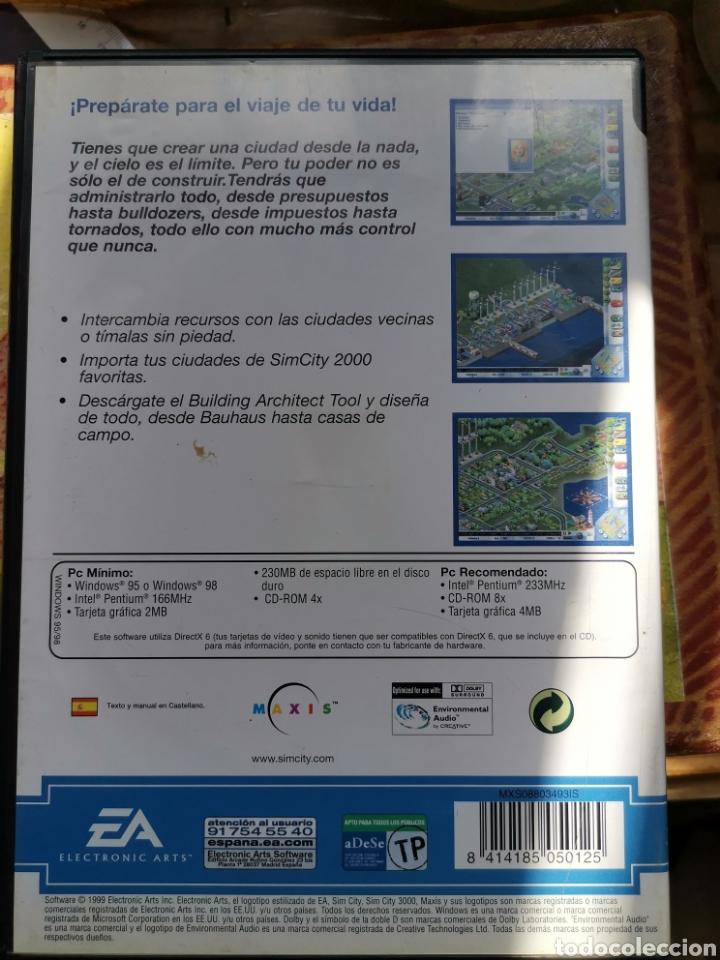 Videojuegos y Consolas: Sim. City 3000 pc - Foto 2 - 252440595