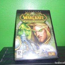 Videojuegos y Consolas: DVD ROM - EXPANCION - WORLD OF WARCRAFT. THE BURNING CRUSADE. 12 + - BLIZZARD. DISPONGO DE MAS DVDS. Lote 253441350