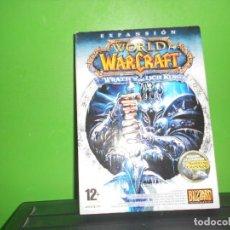 Videojuegos y Consolas: DVD ROM - EXPANCION. WORLD OF WARCRAFT. WRATH OF THE LICH KING. 12 + BLIZZARD. DISPONGO DE MAS DVDS. Lote 253442270