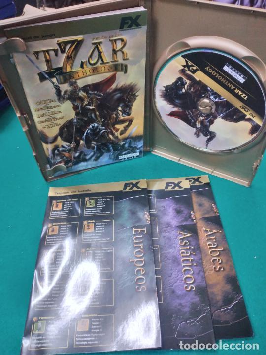 Videojuegos y Consolas: TZAR ANTHOLOGY EDICION DE ORO PC DVD. - Foto 2 - 253478215