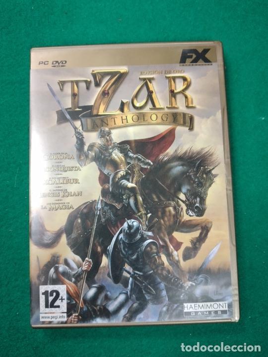 TZAR ANTHOLOGY EDICION DE ORO PC DVD. (Juguetes - Videojuegos y Consolas - PC)