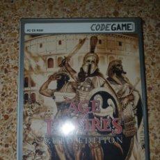 Videojuegos y Consolas: PC - AGE OF EMPIRES ( GOLD EDITION ) - CODE GAME - MUY BUEN ESTADO. Lote 253511135