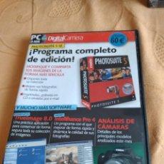Videojuegos y Consolas: M-33 PC DIGITAL CAMARA PHOTOSUITE 5 SE. Lote 253542080