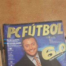 Videogiochi e Consoli: PACK DE 2 REVISTAS DE LA EDICIÓN DEL PC FUTBOL 6. Lote 253636600