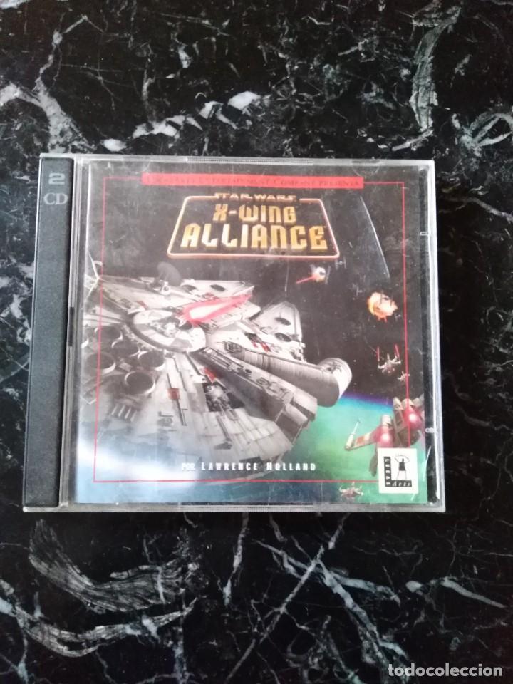 STAR WARS X-WING ALLIANCE JUEGO PC 1999 (Juguetes - Videojuegos y Consolas - PC)