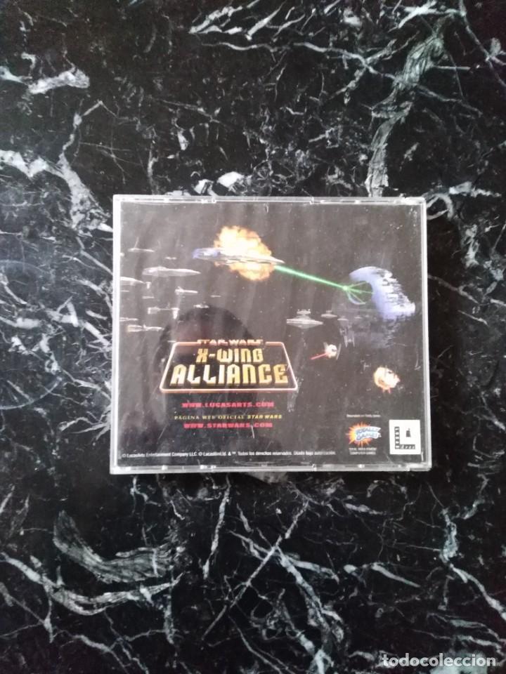 Videojuegos y Consolas: STAR WARS X-WING ALLIANCE JUEGO PC 1999 - Foto 2 - 253939260