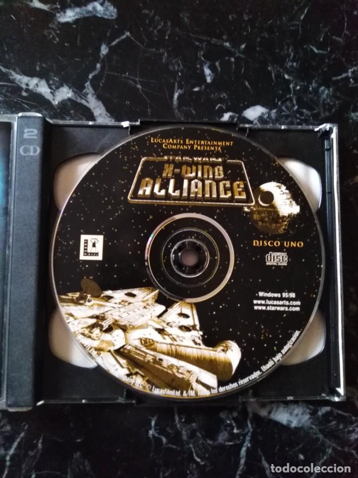 Videojuegos y Consolas: STAR WARS X-WING ALLIANCE JUEGO PC 1999 - Foto 3 - 253939260