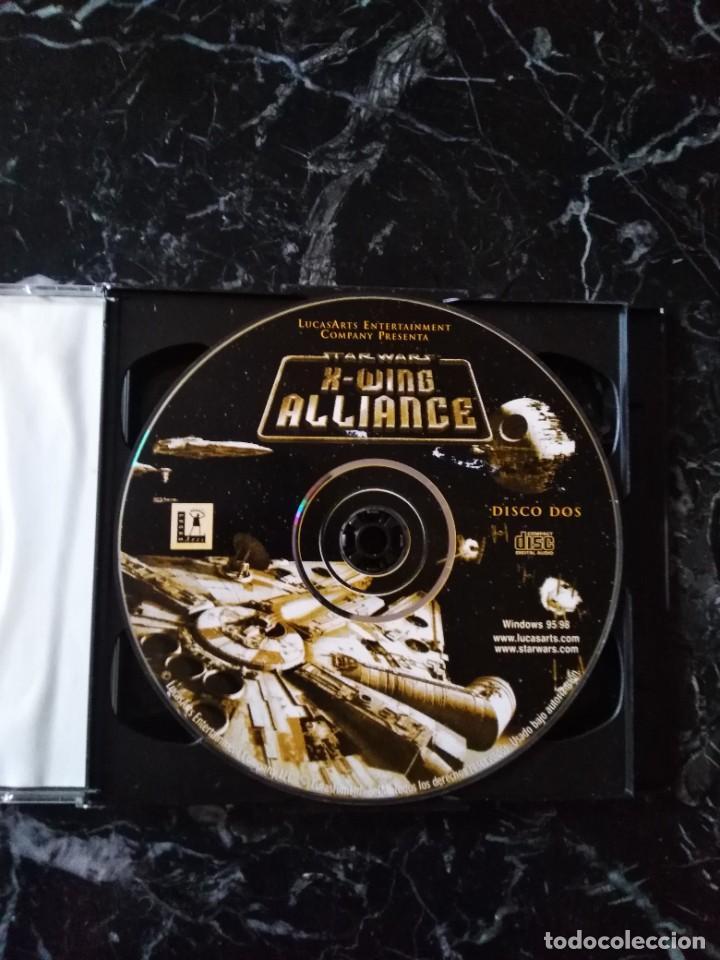 Videojuegos y Consolas: STAR WARS X-WING ALLIANCE JUEGO PC 1999 - Foto 4 - 253939260