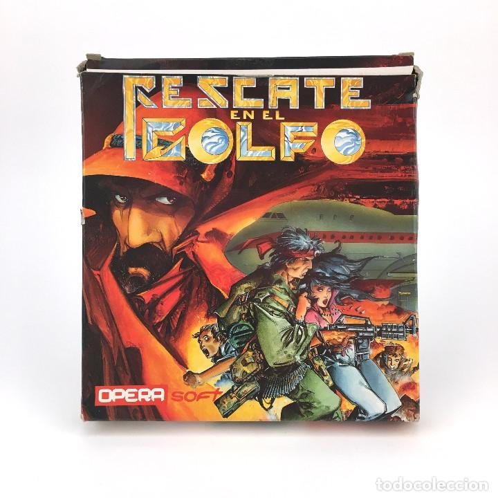 RESCATE EN EL GOLFO. OPERA SOFT TRUE ALFONSO AZPIRI 1991 DISKETTE 5¼ IBM MS DOS FLOPPY DISK JUEGO PC (Juguetes - Videojuegos y Consolas - PC)