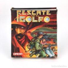 Videojuegos y Consolas: RESCATE EN EL GOLFO. OPERA SOFT TRUE ALFONSO AZPIRI 1991 DISKETTE 5¼ IBM MS DOS FLOPPY DISK JUEGO PC. Lote 253943975