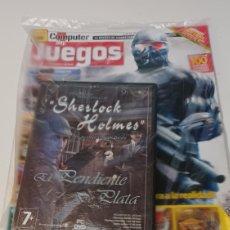 Videojuegos y Consolas: REVISTA COMPUTER HOY JUEGOS N° 82 ENERO 2008 + PC VIDEOJUEGO SHERLOCK HOLMES EL PENDIENTE DE PLATA. Lote 254445940