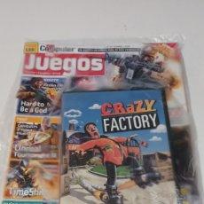 Videojuegos y Consolas: REVISTA COMPUTER HOY JUEGOS N° 83 FEBRERO 2008 + PC VIDEOJUEGO CRAZY FACTORY. Lote 254446885