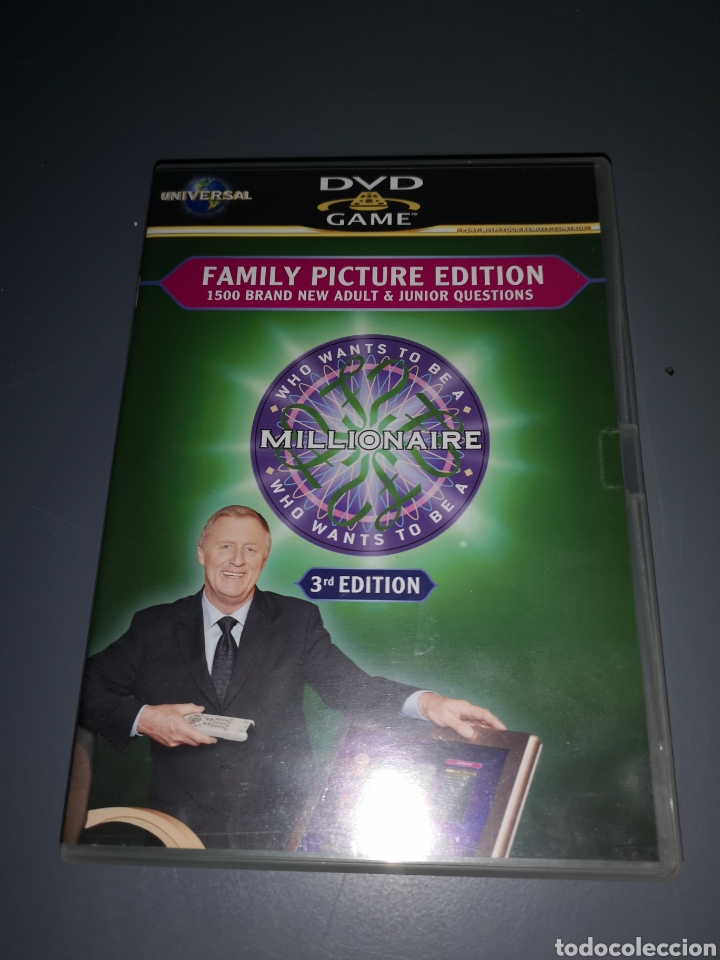 T1J42 DVD FAMILY PICTURE EDITION. MILLIONAIRE 3RD EDITION (Juguetes - Videojuegos y Consolas - PC)