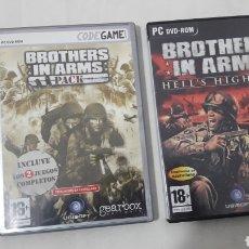 Videojuegos y Consolas: LOTE DE 3 JUEGOS BROTHER'S IN ARMS. Lote 254872165