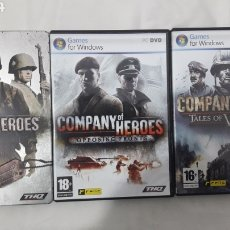 Videojuegos y Consolas: LOTE COMPANY OF HEROES PC. Lote 254874250