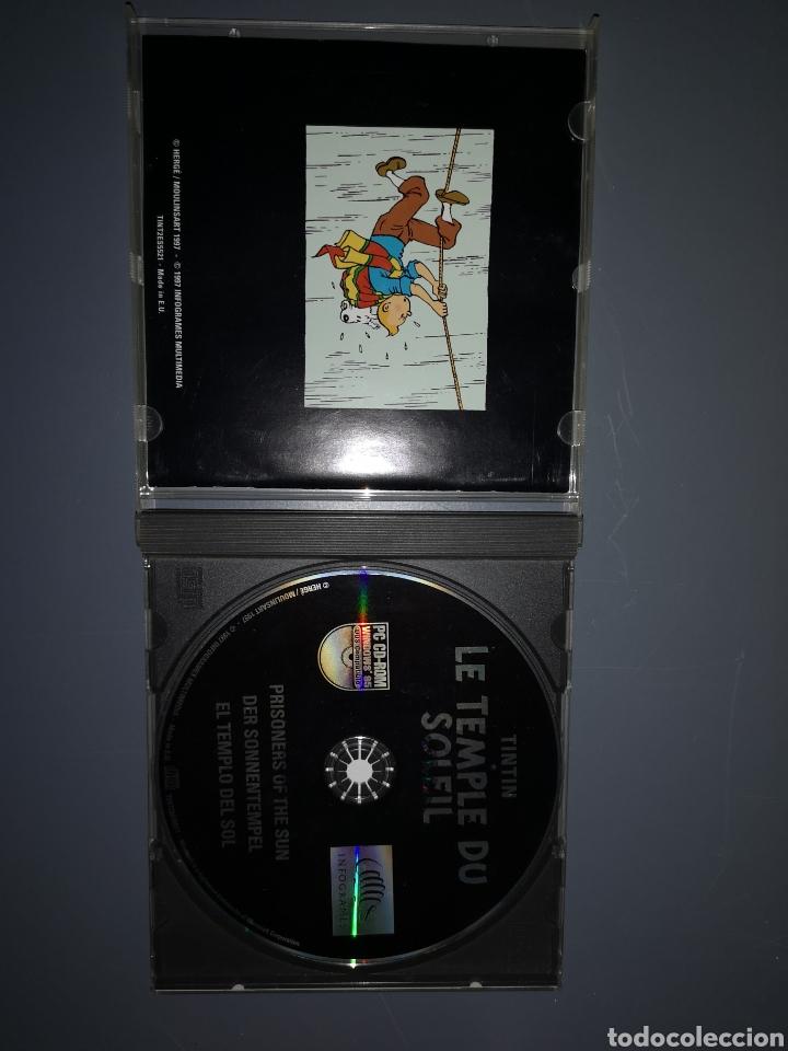Videojuegos y Consolas: T1J44. JUEGO DE PC. TINTIN Y EL TEMPLO DEL SOL - Foto 2 - 254876285