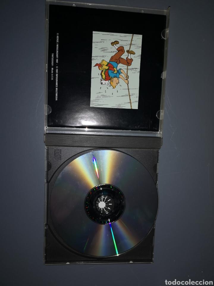 Videojuegos y Consolas: T1J44. JUEGO DE PC. TINTIN Y EL TEMPLO DEL SOL - Foto 3 - 254876285
