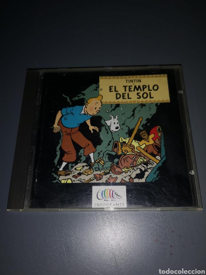 T1J44. JUEGO DE PC. TINTIN Y EL TEMPLO DEL SOL (Juguetes - Videojuegos y Consolas - PC)
