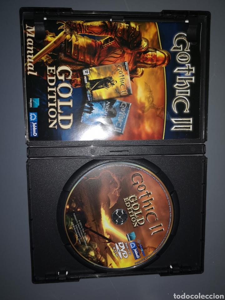 Videojuegos y Consolas: T1J46. JUEGO DE PC GOTHIC II. GOLD EDITION - Foto 2 - 254878645