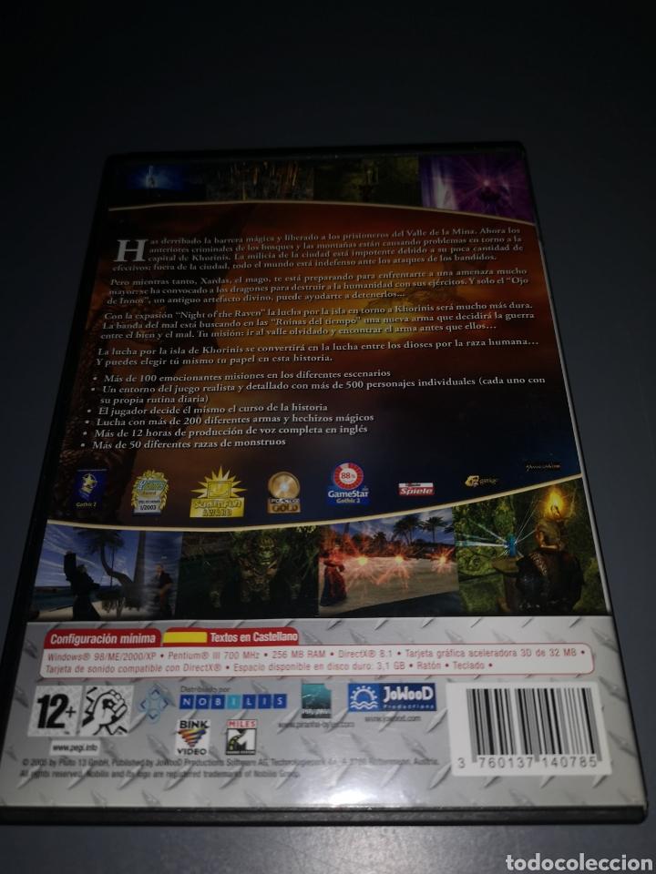 Videojuegos y Consolas: T1J46. JUEGO DE PC GOTHIC II. GOLD EDITION - Foto 3 - 254878645