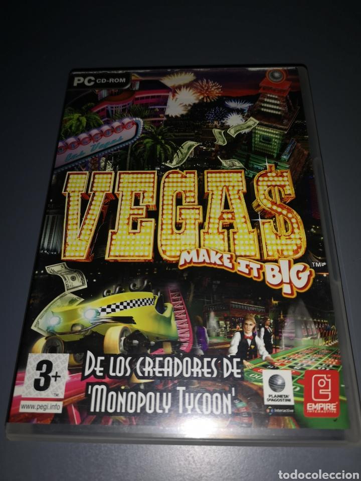 T1J47. JUEGO DE PC. VEGAS MAKE IT BIG (Juguetes - Videojuegos y Consolas - PC)