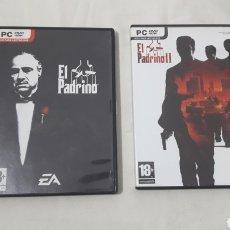 Videojuegos y Consolas: LOTE EL PADRINO PARA PC. Lote 254882275