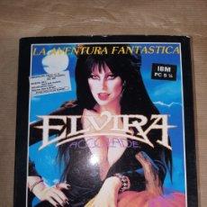 Videojuegos y Consolas: ELVIRA LA AVENTURA FANTÁSTICA IBM PC 5 1/4. Lote 254923320