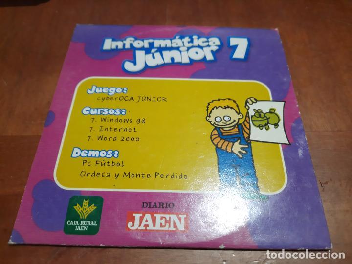 Videojuegos y Consolas: INFORMÁTICA JUNIOR 3, 7, 9. 3 CD-ROM EN CAJAS DE CARTÓN. BUEN ESTADO. ALGO DIFICIL DE CONSEGUIR - Foto 2 - 253955350