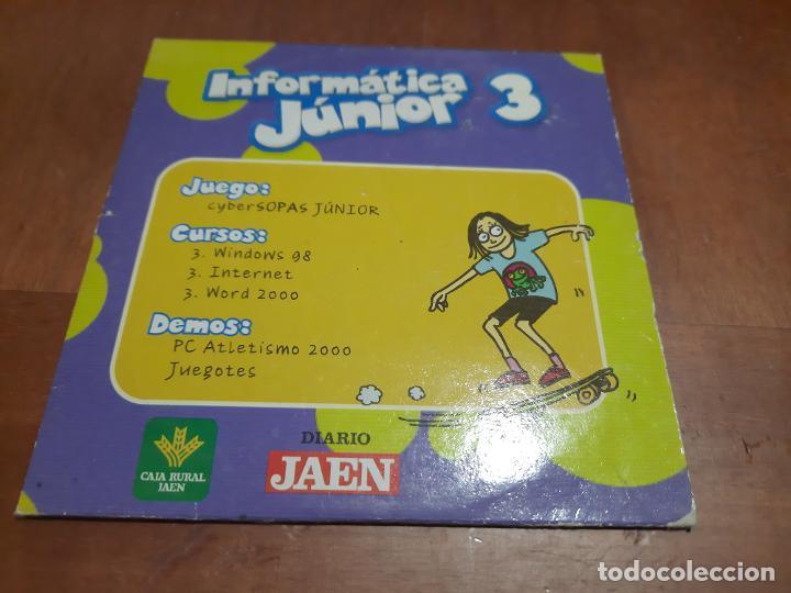 Videojuegos y Consolas: INFORMÁTICA JUNIOR 3, 7, 9. 3 CD-ROM EN CAJAS DE CARTÓN. BUEN ESTADO. ALGO DIFICIL DE CONSEGUIR - Foto 3 - 253955350