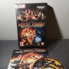 Videojuegos y Consolas: JUEGO PC MORTAL KOMBAT KOMPLETE EDITION. Lote 255364450