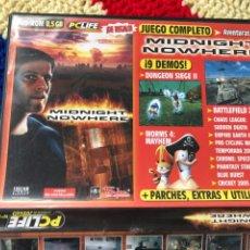 Jeux Vidéo et Consoles: MIDNIGHT NOWHERE PC LIFE JUEGOS N 6 PC DVD ROM KREATEN. Lote 256015280