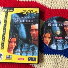 Jeux Vidéo et Consoles: THE MOMENT OF SILENCE CORRUPCION PODER ESPIONAJE PC DVD ROM KREATEN. Lote 256015945