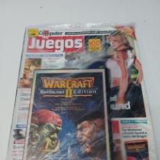 Videogiochi e Consoli: REVISTA COMPUTER HOY JUEGOS N° 35 FEBRERO 2004 + PC VIDEOJUEGO WARCRAFT II BATTLENET EDITION. Lote 257714080