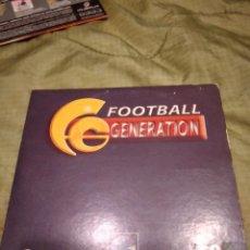 Videojuegos y Consolas: G-74 PC CDROM PC FOOTBALL GENERATION PELIKAN. Lote 257894935