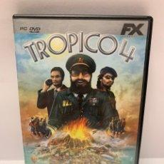 Jeux Vidéo et Consoles: PC 953 TROPICO 4 JUEGO PC SEGUNDA MANO. Lote 259228175