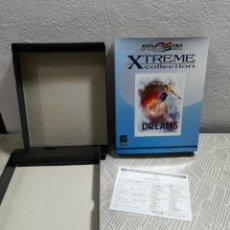 Videojuegos y Consolas: ANTIGUA CAJA DE JUEGO PC. DREAMS. NO CONTIENE JUEGO. Lote 259297380